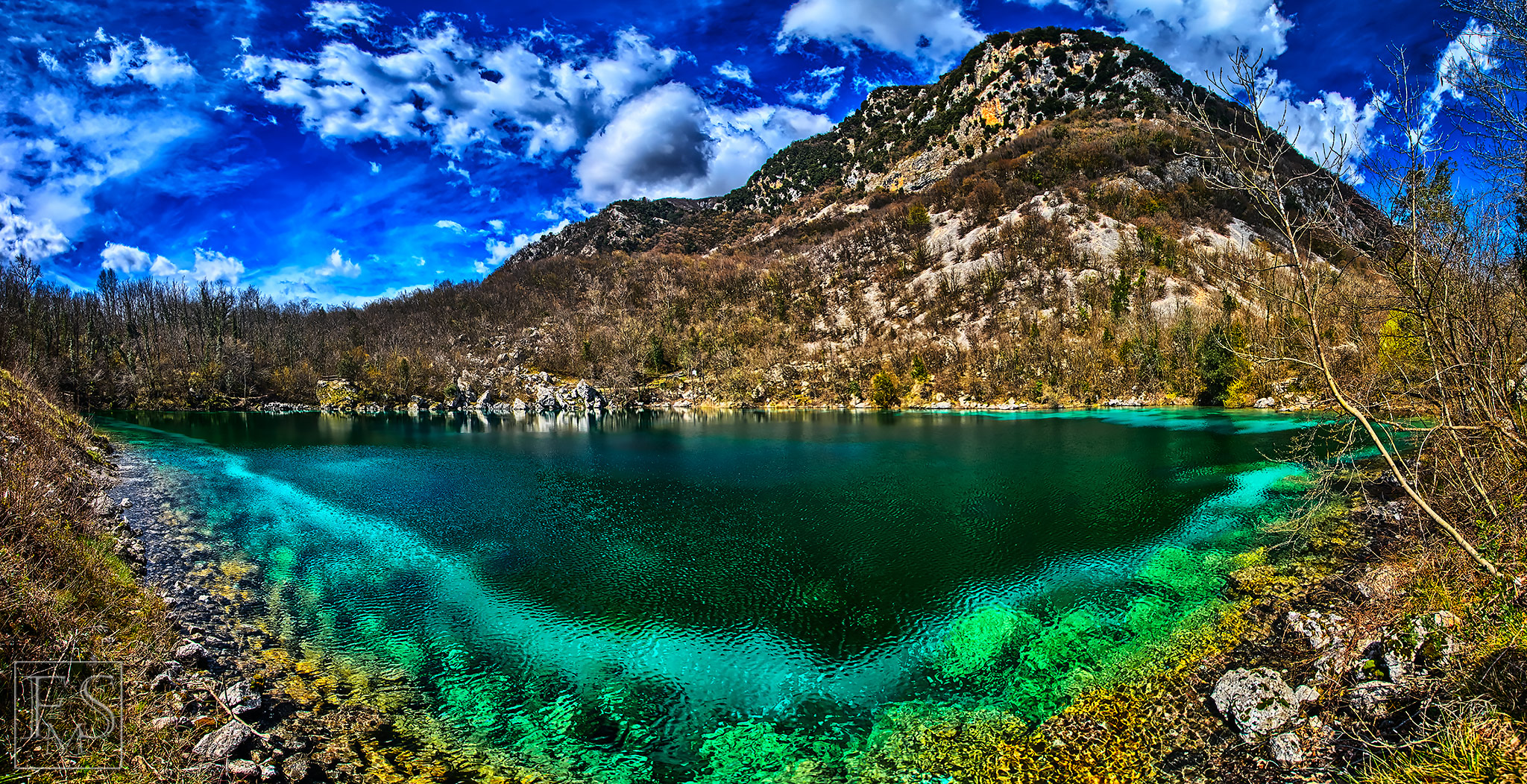 The Clear Green Lake